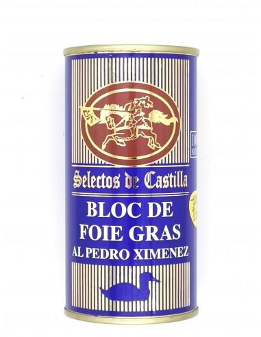 Bloc de foie gras al Pedro Ximenez